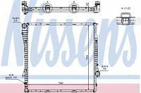 60787A NISSENS Радиатор охлаждения   BMW X5 4.4-4.6