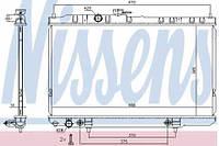 68736 NISSENS Радиатор охлаждения   NISSAN ALMERA CLASSIC (06-) 1.5 I (+)