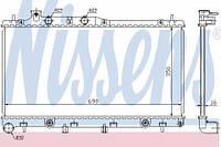 64115 NISSENS Радиатор охлаждения  SUBARU LEGACY 3.0-V6 03- (ДЛЯ ЕВРОПЕЙСКОГО РЫНКА) для OE-№: 45119-AG050; размеры радиатора: 350-690-16;
