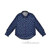 Детская рубашка под джинсы Timbo R025582 р.122 синий