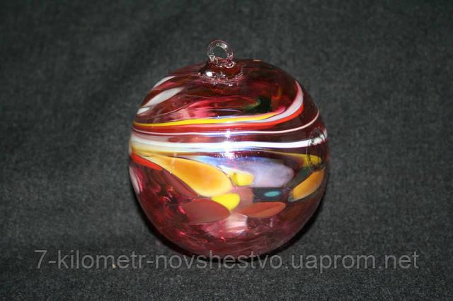 Маленькие новогодние шары на елку, 8 см, (handmade).