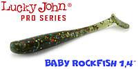 "Силикон Lucky John Pro Series BABY ROCKFISH 2.4"" (10шт)"