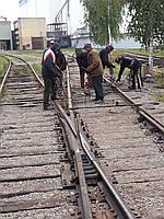 Ремонт подъездных железнодорожных путей и стрелочных переводов