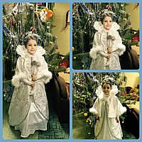 Шикарный костюм снежной королевы. Снежная королева, зима прокат, фото 1