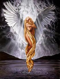 """Набор алмазной вышивки (мозаики) """"Прекрасный ангел"""". Художник Chris Dellorco"""