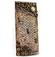Настенная ключница в стиле Steampunk Подарок на новоселье, день рождения годовщину