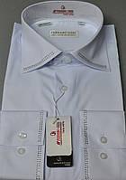 Біла класична сорочка зі стразами FERRERO GIZZI розмір (39.40.41.43.44.45), фото 1