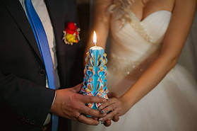 Свечи свадебный очаг
