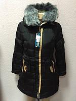 Женская куртка парка внури на меху, фото 1