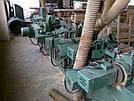 Четырехсторонний станок б/у Gabbiani (Италия) 11 шпинделей, промышленного класса, 1979 год, фото 4