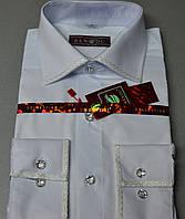 Мужская рубашка со стразами (камушками) BENDU (размер 39,41), фото 1