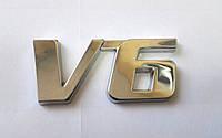 3D эмблема V6