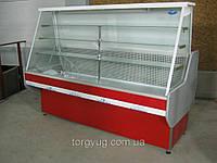 Кондитерская холодильная витрина напольная
