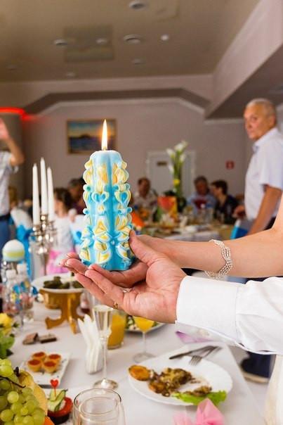 Свадебные свечи семейный очаг - фото, резная, ручной работы от мастерской ELITE CANDLES