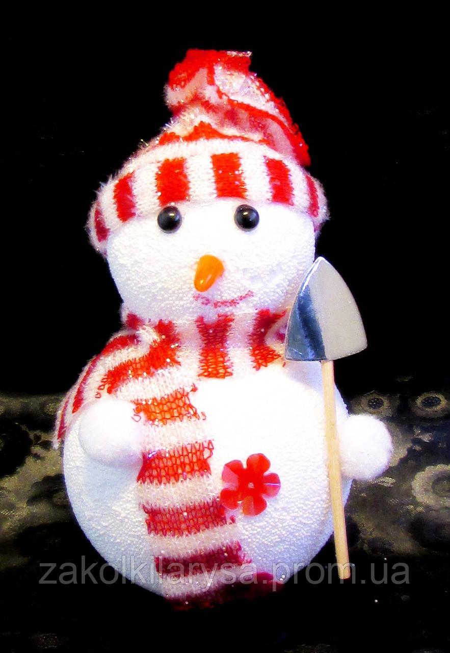 Ялинкова іграшка-Сніговик-16,0 див.-6 шт.