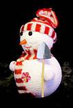 Ялинкова іграшка-Сніговик-16,0 див.-6 шт., фото 2