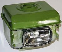 Топливный бак (потойная горловина) с фарой (1GZ90) для мотоблока 180N