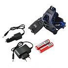 Профессиональный аккумуляторный налобный фонарь POLICE BL-2187 T6, фото 2