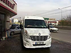 Передний бампер (накладка, под покраску) - Renault Master (2011+)
