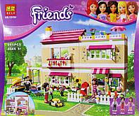 Конструктор В гостях у Оливии, аналог lego Friends 3315, 10164, аналог Лего, 825 деталей