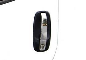 Накладки на ручки (4 шт, нерж) - Renault Trafic (2001-2007)