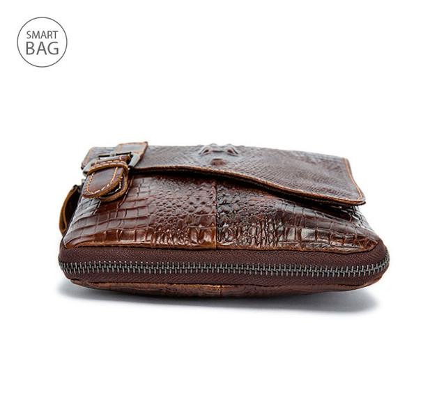 Небольшая кожаная сумка на плечо Marrant | коричневая