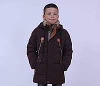 Куртка зимняя, для мальчика KIKO 4230 размер 134-164