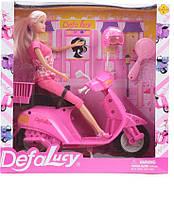 Кукла на скутере с аксессуарами 8206