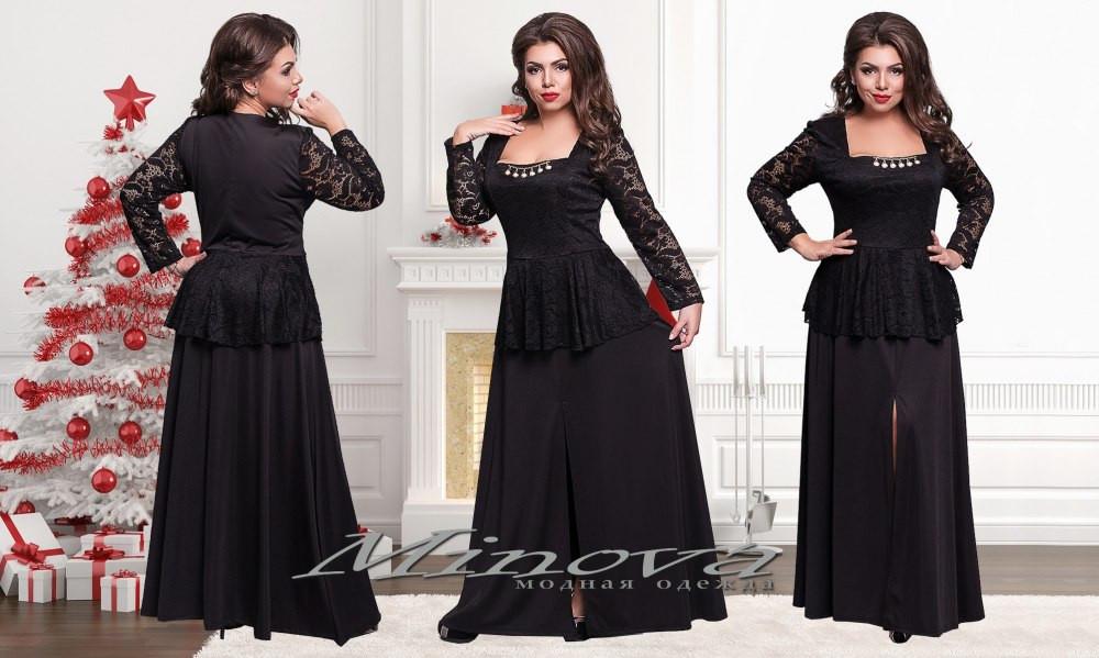 Вечернее платье большого размера 50-56 разные цвета - iPlatye в Одессе