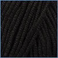 Пряжа для вязания Валенсия Дельмара (Valencia Delmara), 620 (Black) цвет,  ЧМ 1056799