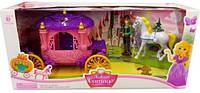 Лошадь с каретой и куклой SS008A