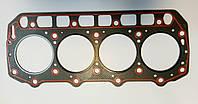 Прокладка ГБЦ двигателя YANMAR 4TNE94 асбест №129901-01350