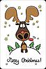 "Новогодний магнит ""Merry Christmas!"""