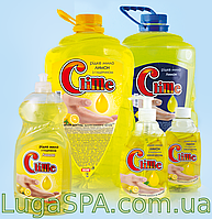 Жидкое мыло с глицерином «Лимон» Clime, 0,4л. (дозатор)