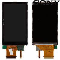 Дисплейный модуль (дисплей + сенсор) для цифрового фотоаппарата Sony DSC-TX55, оригинал