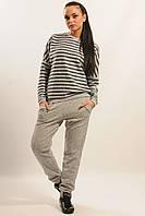 Повседневные теплые брюки-джоггеры из ангоры 42-52 размеры 42