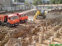 Земляные работы - разработка грунта с погрузкой и вывозом Симферополь Крым