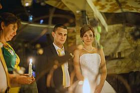 Маленький свадебный набор свечей.  3