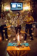 Маленький свадебный набор свечей.  2