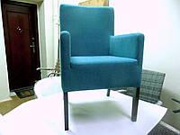 Кресло BRENA 56х52х91 см Польша из ткани,цвет морская волна