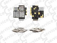 Разъем SIM-карты и карты памяти  HTC T528d One SC,  шлейфе,  две SIM-карты