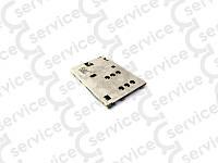 Разъем SIM-карты  Nokia 112/200/202/206/210/301/305/306/308/X2-02/C2-00/C2-03/C2-06/C2-08/X2-02, (Sim 2)