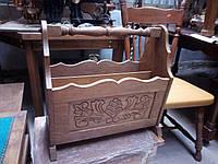 Деревянная газетница.Голландия.Мебель б/в