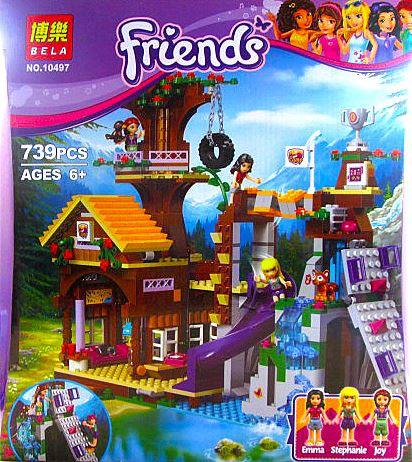 "Конструктор Friends 10497 ""Дом на дереве"" аналог лего 41122"
