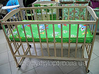 Детская кроватка на дугах Ольха без лака