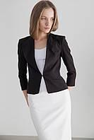 Черный женский пиджак MONAME