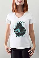"""Женская футболка """"Ворон"""""""