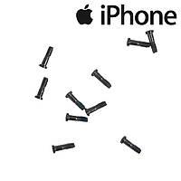 Шурупы внешние Apple iPhone 5S, черные (внешние, 10 шт.)