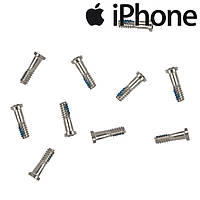 Шурупы внешние iPhone 6S Plus, белые (внешние, 10 шт.)