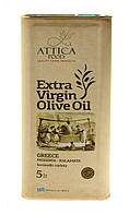 Оливковое масло Экстра Вирджин Мессиния/ Extra Virgin Olive Oil Messinia/ Attica Food, 5 л. ж/б